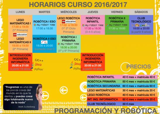 clases programacion y robotica