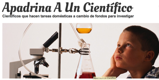Apadrina un científico