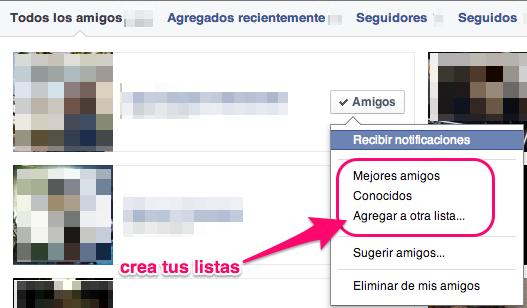 privacidad en Facebook