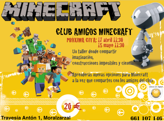 Club amigos Minecraft